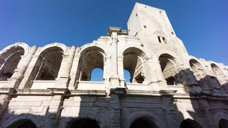 Arles France Map and travel Guide Mapping Europe