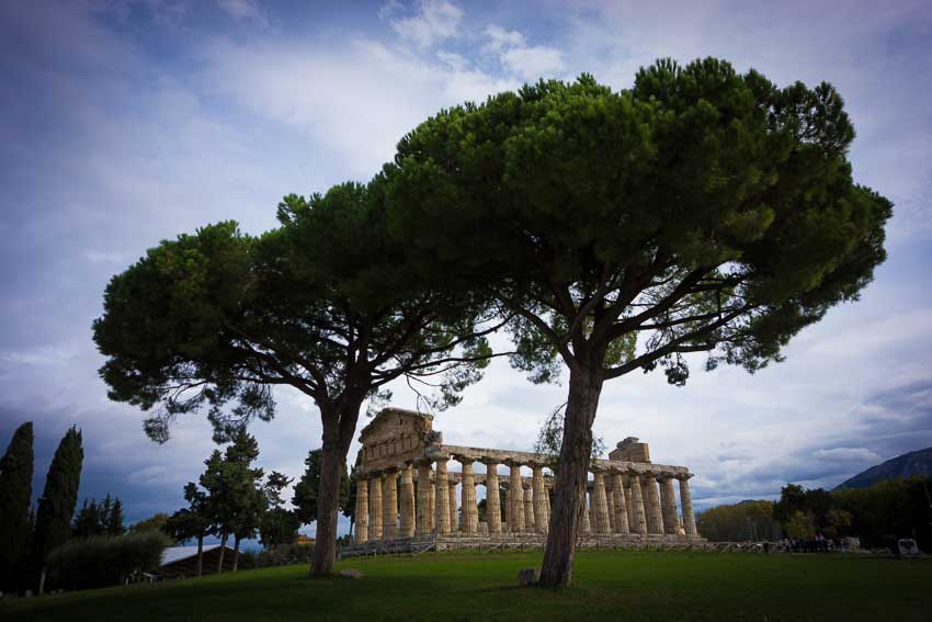 Paestum Map and Guide
