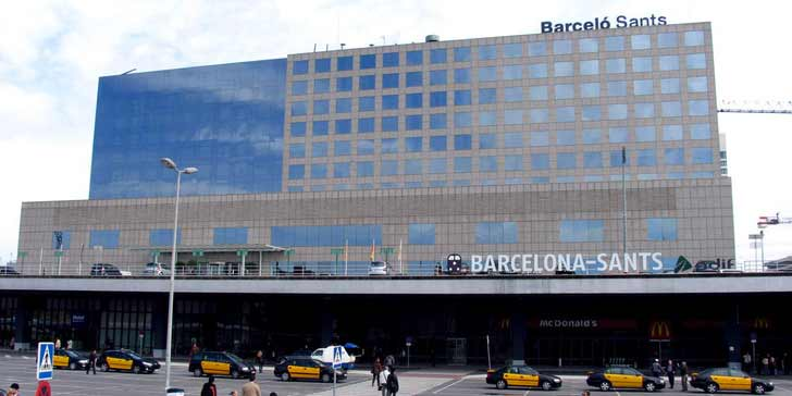 barcelona transportation map train and bus stations in barcelona spain. Black Bedroom Furniture Sets. Home Design Ideas